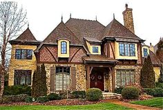 South Charlotte Nc   Google Search Tudor Style Homes, Charlotte Nc,  Southern Living,