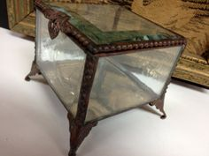 Antique Beveled Glass Victorian Jewelry by GrandmaUsedToHave