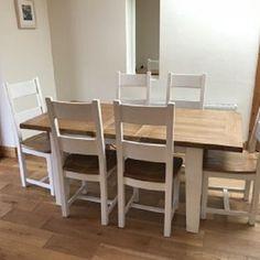 Dubový jídelní set 2 Dining Table, Furniture, Home Decor, Decoration Home, Room Decor, Dinner Table, Home Furnishings, Dining Room Table, Home Interior Design