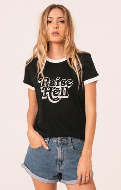 Afends Raise Some Hell - Graphic Tee