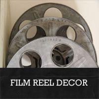 vintage film reel decor ideas  rustic-crafts.com