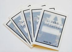 f0rget-it:    Screencaptures Zine Volume One  — possibly for sale soon depending on if there's interest?