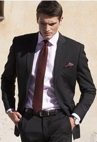 Cassino Black Tailored Fit Washable Crease Resistant Suit - Smart and fashionable with the added bonus of being crease resistant and washable. This is a must-have suit. Summer Suits, Travel Abroad, Mens Suits, Suit Jacket, Blazer, Fashion Outfits, Fitness, Cloths, Jackets