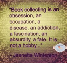 So that's what shelves and shelves of books is called!
