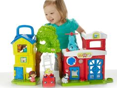 Fisher-Price Little People Animal Rescue Playset Collectible Toys for Children