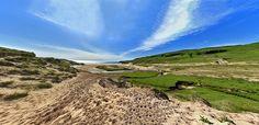 Approaching Lossit Bay panorama, Isle of Islay
