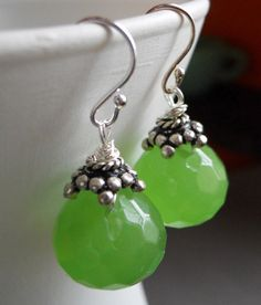 With this lime who needs a coconut ?! Quartz earrings by Sueanne Shirzay, $40.00 https://www.etsy.com/listing/101501157/with-this-lime-who-needs-a-coconut