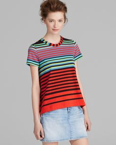 MARC BY MARC JACOBS Top - Paradise Stripe | Bloomingdale's