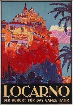 By Daniele Buzzi (1880-1974), 1926, Locarno. (Swiss)