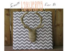 Mounting faux taxidermy on fabric covered board? Adult Safari Party, Home Crafts, Diy Crafts, Antler Art, Faux Taxidermy, Heart Crafts, Fabric Covered, Antlers, Crafty