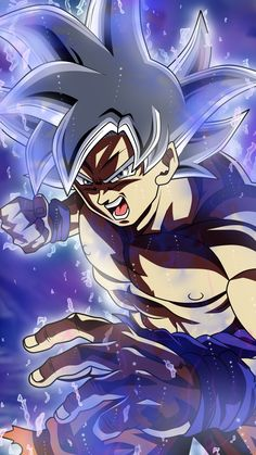 Goku ultra instinct wallpaper by - 77 - Free on ZEDGE™ Dragon Ball Gt, Dragon Ball Image, Wallpaper Do Goku, Mobile Wallpaper, Dragonball Wallpaper, Anime Boys, Goku Ultra Instinct Wallpaper, Foto Do Goku, Thanos Avengers