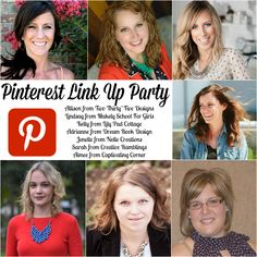 Favorite Pins Weekly Pinterest Link Up Party - come join us and promote YOUR pins!