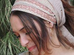 Beauty,Soft & Easy -so comfortable Headband tichel ,Snood, Head Scarf,Head Covering,jewish headcovering,Scarf,Bandana,apron