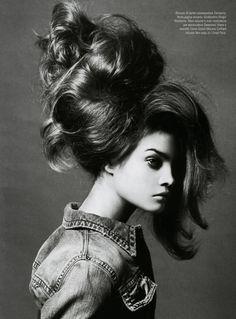 Natalia Vodianova   Steven Meisel #photography   Vogue Italia   via tumblr