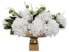 John Richard Traditional Cocktail Culture Decorative Floral Arrangement