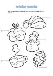 preschool winter worksheets printables preschool printables winter clothing printable abc. Black Bedroom Furniture Sets. Home Design Ideas