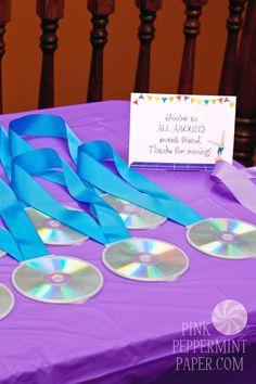 This Gymnastics Birthday Party from Pink Peppermint Paper is a unique and must-see party. Great ideas for favors, food, cake and decorations. 5th Birthday Party Ideas, Birthday Favors, Birthday Fun, Birthday Party Decorations, Gymnastics Party Favors, Gymnastics Birthday, Boys Gymnastics, Olympic Gymnastics, Skate Party