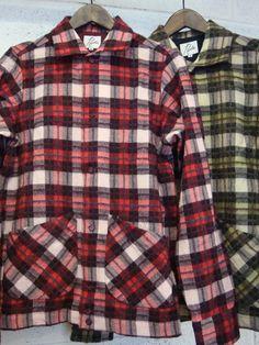 Plaids shirt with big pockets