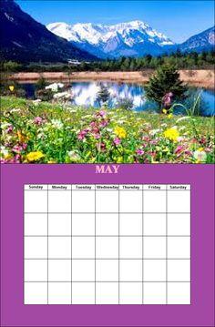 May Season Calendar, Monday Tuesday Wednesday, May, Seasons, Outdoor, Outdoors, Seasons Of The Year, Outdoor Games, Outdoor Living