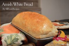 Amish White Bread www. Recipe For Amish White Bread, Tasty Bread Recipe, Amish Recipes, Bread Recipes, Cooking Recipes, Cooking Tips, Amish Bread, Kitchen Aid Recipes, Biscuit Bread