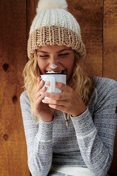 8436bbbee8e3e Summit Color Block Pom Beanie. Cute Winter HatsSweater ...