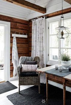 Our small cottage, romantic country style.