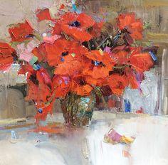 artist Komarova Elena, Poppy
