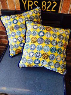 Mosaic cushions