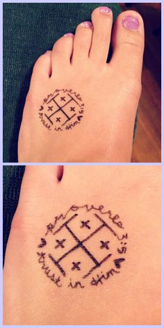 """Proverbs 3:5 """"Trust in the Lord with all your heart and lean not on your own understanding."""" + Jerusalem cross"""