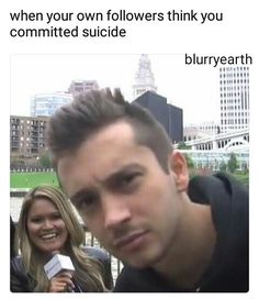 everyone needs to calm down tyler's on vacation okay