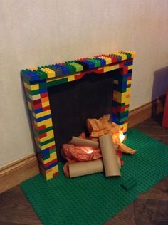 Duplo fireplace