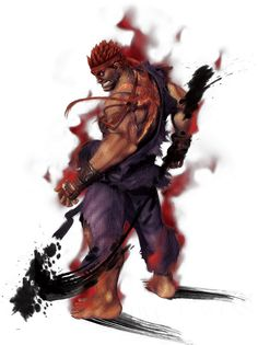 Evil Ryu from Street Fighter