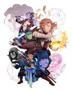 The Mighty Nein. Critical Role.