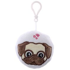 Key Chains, Christmas Ornaments, Holiday Decor, Smile, Happy, People, Flower Of Life, Pug, Birthday