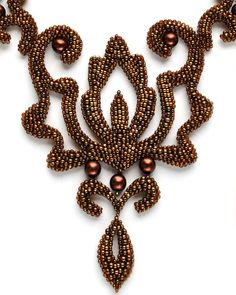 Olga Arsentieva. Curly Bead Jewelry HOW TO