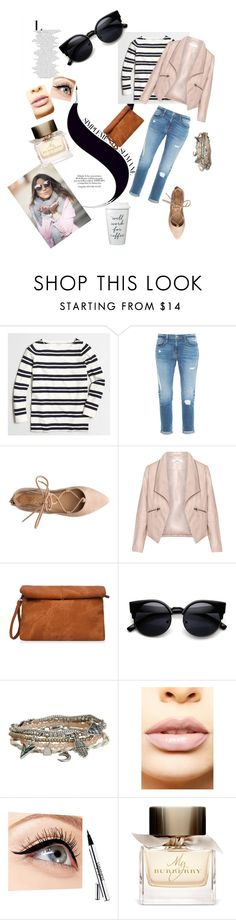 """""""day 3-lunch after a long sightseeing"""" by ioana-lacatus ❤ liked on Polyvore featuring moda, J.Crew, Frame Denim, Zizzi, Aéropostale, LASplash, Luminess Air, Burberry, women's clothing e women"""
