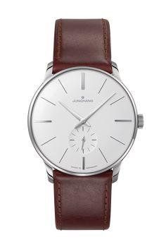 Seit 1936 steht das Prädikat Meister für den klassischen Uhrenbau bei Junghans. Dieser Tradition folgend entstehen die heutigen Meister Uhren durch Leidenschaft für Präzision und ausgeprägtes Qualitätsbewusstsein.