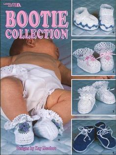 Bootie Collection - Crochet Patterns
