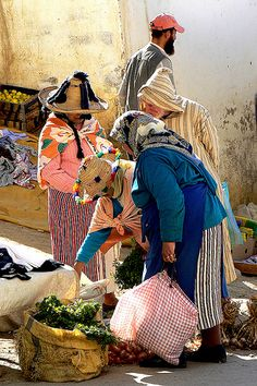 Market Day . Chefchaouen Morocco                                                                                                                                                                                 More