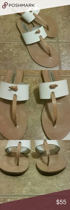 STEVE MADDEN OLIVIA SANDALS Got the wrong size only worn 4 times. They were too big. Being worn already couldn't return. Steve Madden Shoes Sandals