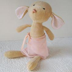 Ballerina Mouse Doll