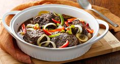 Braised Balsamic Herbed Beef and Vegetables recipe - can be prepared up to 2 days before serving!