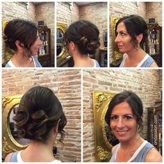 Peinado + recogido + maquillaje - Blow dry + hair up + make up by Onda Salon Team.  #OndaSalon #peinado #recogido #maquillaje #blowdry #hairup #makeup #peluqueriaBarcelona #peinadoBarcelona #recogidoBarcelona #maquillajeBarcelona #blowdryBarcelona #hairupBarcelona #makeupBarcelona #Barcelona #Barceloneta