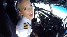 This Stunningly Beautiful Pilot Will Make Sure You're Never Afraid Of Flying Again - Meet Malin Rydqvist, The Sexiest Pilot Ever Stunningly Beautiful, Beautiful Women, Female Pilot, Female Soldier, Aviators Women, Fear Of Flying, Negative People, Sporty Girls, Cabin Crew