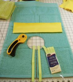 Hand Towel Bib Sewing Tutorial | Green Mommy Diapers
