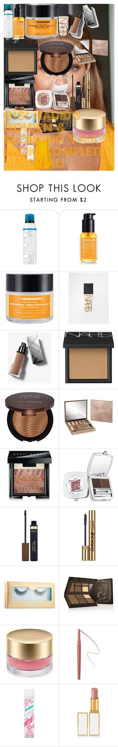 """""""Gigi Hadid's Golden & Glowing VMA's Look! Complete Tutorial!"""" by oroartye-1 on Polyvore featuring beauty, St. Tropez, Ole Henriksen, NARS Cosmetics, Burberry, MAKE UP FOR EVER, Urban Decay, Bobbi Brown Cosmetics, Benefit and L'Oréal Paris"""