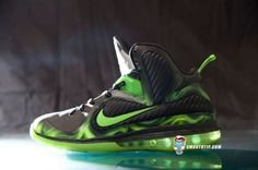 """Nike LeBron 9 """"ParaNorman"""" Customs by SmoothTip"""