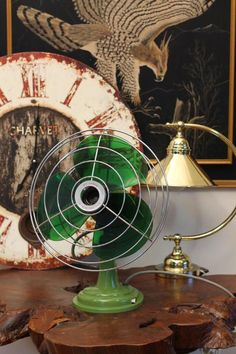 I like the fan, but in a different color & love the lamp