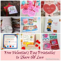 Valentine's Printables to Share the Love by Club Chica Circle