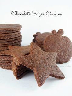 Mari's Cakes (English): Chocolate Sugar Cookie